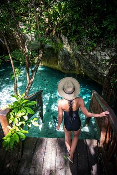 Cenotes in Riviera Maya - Amazingly gorgeous photos of cenotes in Mexico and great information! Thank you for pinning!