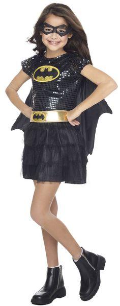 Girls Tutu Dress Batgirl Costume - Batman Costumes