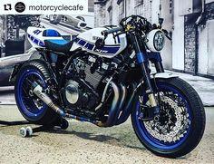 Beautiful custom Yamaha XJR.