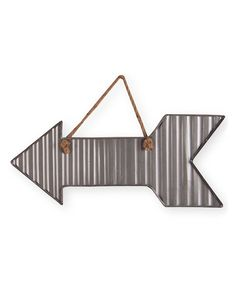 Loving this Corrugated Straight Arrow Wall Art on #zulily! #zulilyfinds