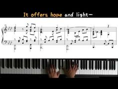 Sing to Jehovah 143 - Light in a Darkened World (Piano)