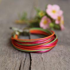 Urban chic bracelet designer jewelry colorful by Naryajewelry
