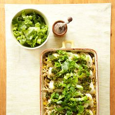 These Chicken and Corn Enchiladas go easy on the cheese and use a vegetable puree to bind the dish, making it a healthier alternative. #vegetables #protein #grain #myplate