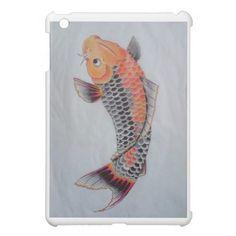 Koi fish design iPad mini case