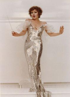 "1981: Bob Mackie, for Bernadette Peters ""Pennies from Heaven"""