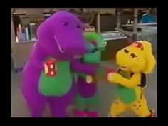 Barney and Friend SIng and Dance youtube.com/channel/UCPvfgvoMkBUjGujtU28il_g