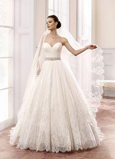 Featured Wedding Dress: Eddy K; www.eddyk.com; Wedding dress idea.