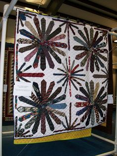 1027 Wagon Wheel Necktie Quilt | Flickr - Photo Sharing!