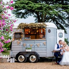 Gallery - The Paddock Mobile Bar - Geschäftsideen - Outdoor Kitchen Catering Trailer, Food Trailer, Trailer Build, Coffee Carts, Coffee Truck, Mobile Bar, Mobile Food Cart, Converted Horse Trailer, Foodtrucks Ideas