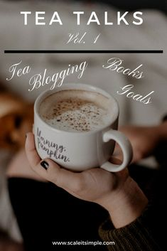 A new lifestyle blog update where we sit with a cup of tea and talk about blogging, books, my favorite things and goals I am working towards. Get to know me better and get inspired in the process.