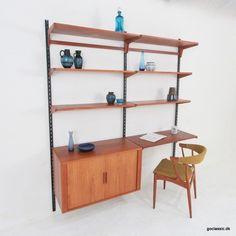 Located using retrostart.com > Wall Unit by Kai Kristiansen for Feldballes Møbelfabrik