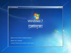 windows 7,Booting Instruction.