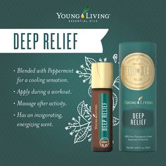 Deep Relief Essential Oil Roll-on Facts