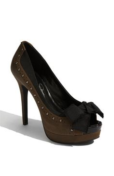Jessica Simpson Easter Pump - Army Brown - $64.90  Nordstrom Anniversary Sale!