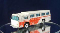 TOMICA 41 FUJI SEMI-DECKER BUS 1976   1/148   JAPAN   41B-22   AIRPORT   NO BOX Diecast Models, Fuji, Hot Wheels, Minis, Corgi, Japan, Box, Templates, Corgis