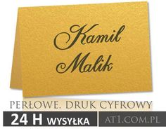 #winietki Ślubne #wizytówki #express #druk24h www.At1.com.pl