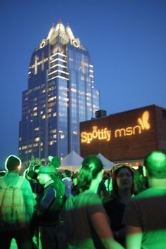 The Spotify & MSN showcase with Grimes & A$AP Rocky