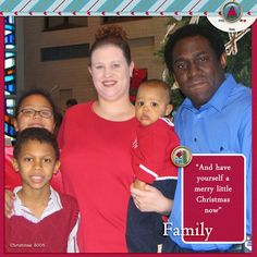 Family Album 2005: Christmas, Family Photo