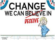 Bob Gorrell  (2016-07-29) USA: Hillary Clinton