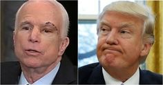 Trump Delivers 3 Words To McCain After He Screws All Americans Just Like Benedict Arnold