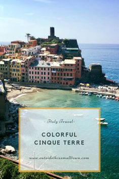 Cinque Terre is a MUST visit in Italy. Hike between these famous five towns for some breathtaking views