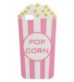 Skinny Dip popcorn Iphone 5 phone case via Joke Hoogewijs. Click on the image to see more!