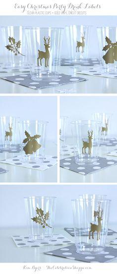 Easy DIY Christmas Cups With Cricut | Kim Byers, TheCelebrationShoppe.com