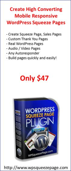 wordpress squeeze page theme wp squeeze page sales page