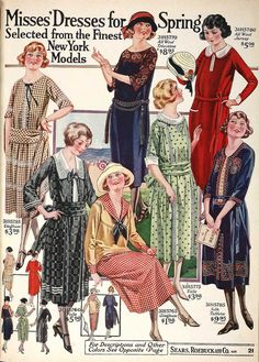 Dress for the spring of 1922.