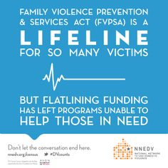 FVPSA is a lifeline for so many victims, but flatlining funding has left programs unable to help those in need. | design by @Andria Waclawski | DV counts census infographic and briefing supported by the @Avon Foundation