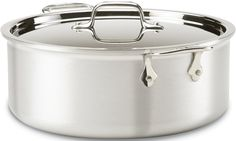 All-Clad 7508 MC2 Master Chef 2 Stainless Steel Tri-Ply Bonded Stockpot with Lid Cookware, 8-Quart, Silver ** You can get additional details at the image link.