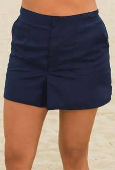 Click Image Above To Buy: Chlorine Reistant! Beach Belle Navy Plus Size Cargo Short Swimsuits For All, Plus Size Swimsuits, Women Swimsuits, Cargo Shorts Women, Swim Shorts Women, Chlorine Resistant Swimwear, Catherines Plus Size, Fat Girl Fashion, Swimwear Cover Ups