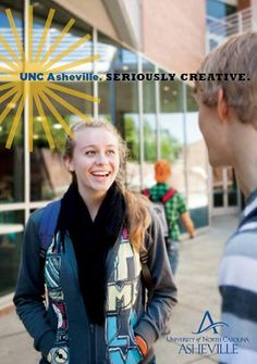 Bronze Award in In-House Print Publications, University of North Carolina, Asheville - UNC Asheville Viewbook