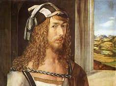 Self Portrait by #Durer - an Original 1954 #Art Print #forthehome $10.00, via Etsy.