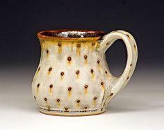 """bulldogpottery: """" Samantha Henneke's mug (Bulldog pottery) """""""