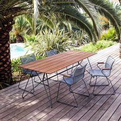 Houe Sketch Tisch Bambus (outdoor) Houe Though age-old throughout idea, a pergola may be encountering Table Dexterieur, Dining Table, Outdoor Dining, Outdoor Tables, Outdoor Decor, Furniture Care, Outdoor Furniture, Mesa Exterior, Table Design