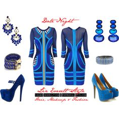 """Date Night #outfit #style"" by lizeverettstyle on Polyvore"