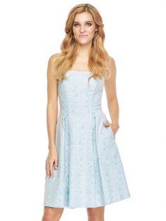Sukienka Stephanie w kolorze błękitnym