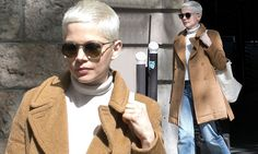 She was spotted filming her new movie The Greatest Showman in New York City last week, and Michelle Williams, 36, appeared take a break as she was spotted in Paris, France on Tuesday.