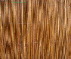 Bamboo Creasian roll fencing, to cover unsightly strangely colored deco bathroom wall tiles