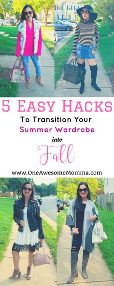 How do you transition your summer wardrobe into fall? This post has 5 insanely easy hacks to help you extend your summer wardrobe to fall.   transition summer to fall outfits   transition summer to fall outfits casual   transition summer dress to fall   summer to fall outfits   summer to fall transition outfits   transition outfits   transition outfits summer to fall   fashion hacks   fashion tips   fashion tips and tricks   style hacks   style tips   style tips and tricks