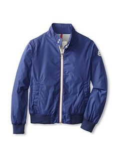 30% OFF Moncler Kid's Moncler Bomber Jacket (Sapphire)