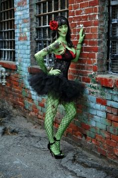 The best kind of fun. Zombie Pin-up Girl