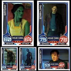 #Marvel hero #attax series 3 #guardians movie cards -- pick 2 from list,  View more on the LINK: 	http://www.zeppy.io/product/gb/2/201455161078/