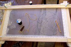 Jennifer Stumpf: tambour bead embroidery
