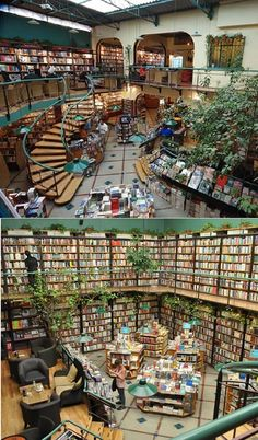 El Pendulo Bookstore, Mexico DF., Zona Rosa. I wish one day show to you this...