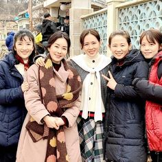 Choi Sam Sook with ajumma squad😆❤ Hyun Bin, Moving Pictures, Star Pictures, Korean Actresses, Korean Actors, Choi Sam, The Crown Tv Show, Best Kdrama, Womens Month