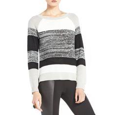 BCBG Colorblock Sweater