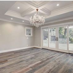 Home refurbishment can completely give a facelift to an otherwise old-looking house. Best Secrets Home Renovation Remodel Your Living Space Ideas. Home Renovation, Home Remodeling, Doors And Floors, The Doors, Grey Flooring, Flooring Ideas, Grey Hardwood Floors, Gray Wood Flooring, Reclaimed Wood Floors