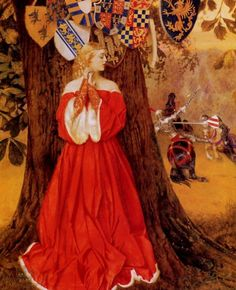 images of medieval knights and maidens - Google Search